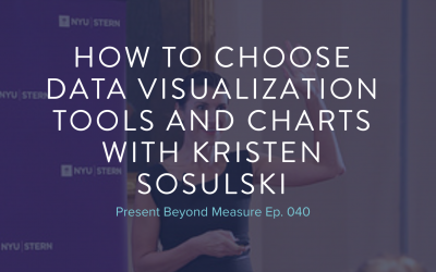 How to Choose Data Visualization Tools and Charts with Kristen Sosulski
