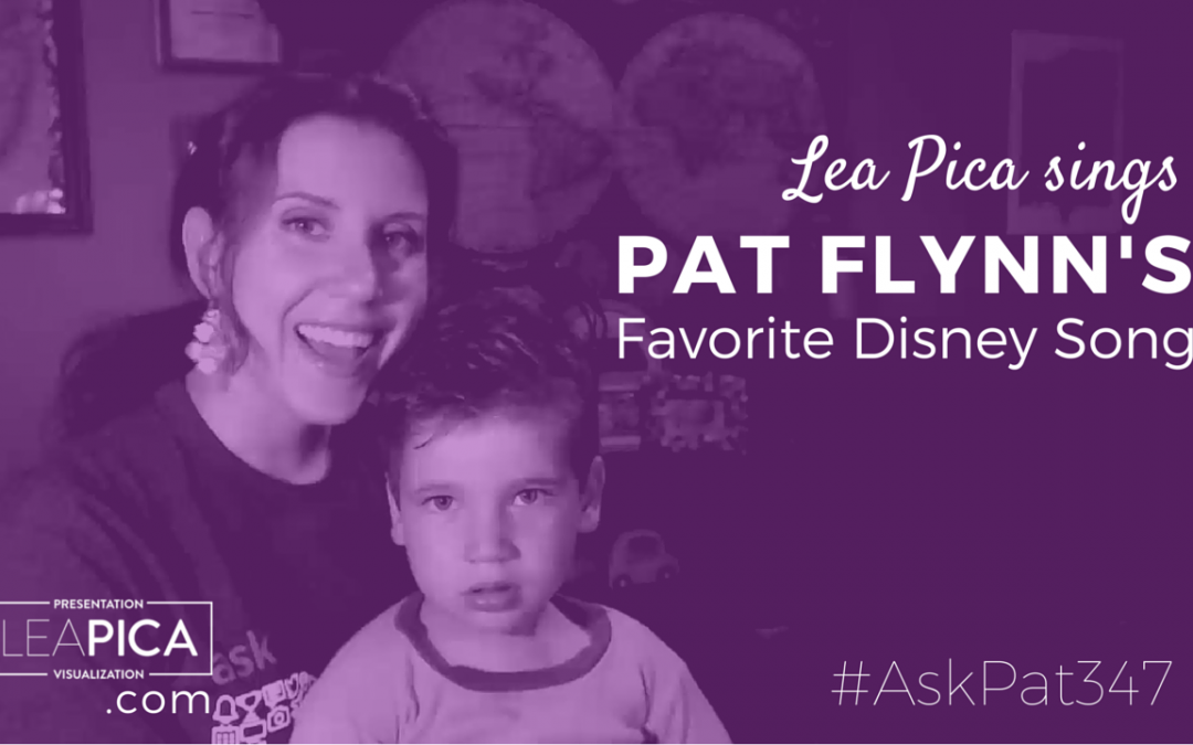 Watch Me Sing Pat Flynn's Favorite Disney Song