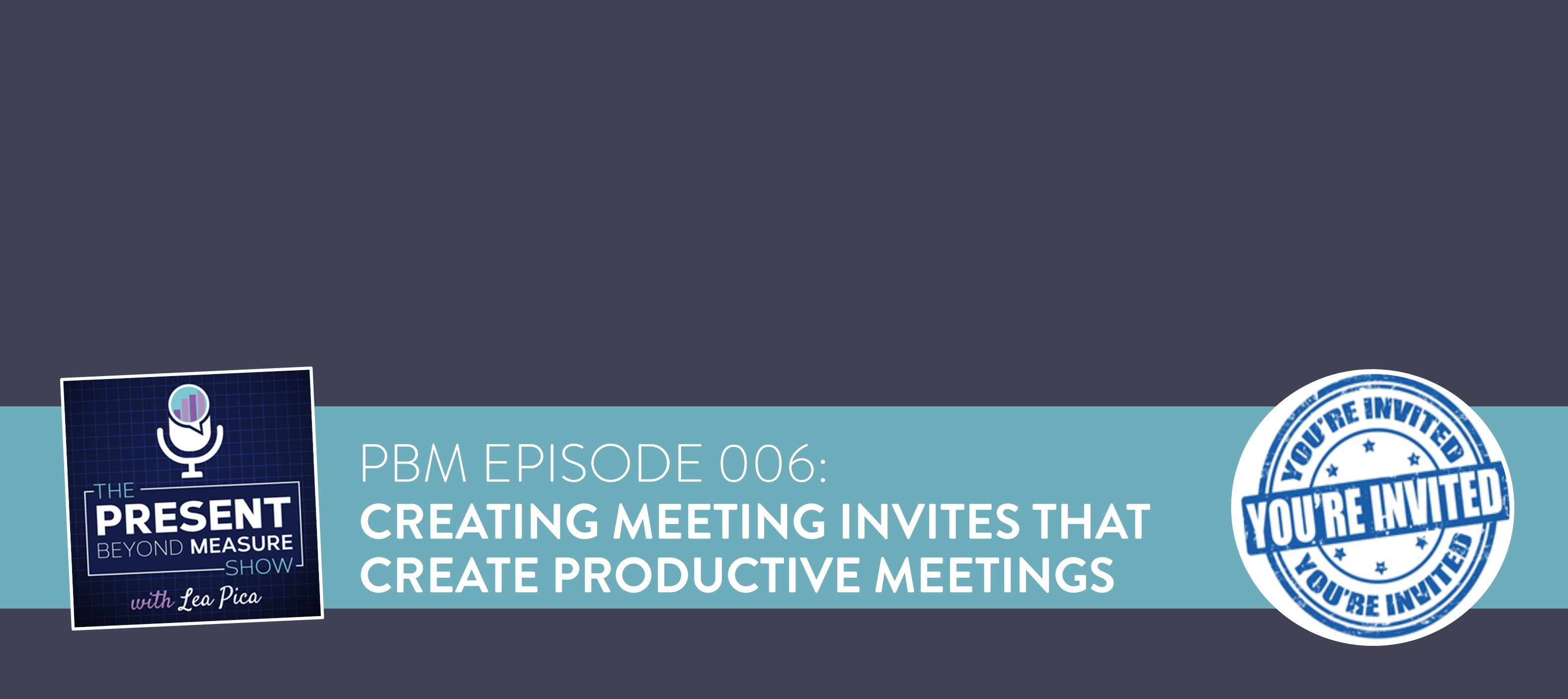 Create Meeting Invitations For Productive Meetings Template