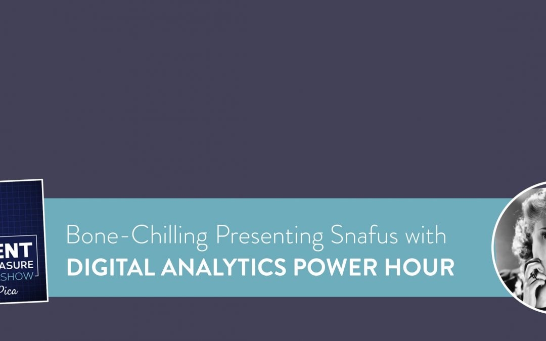 Presentation Horror Stories with the Digital Analytics Power