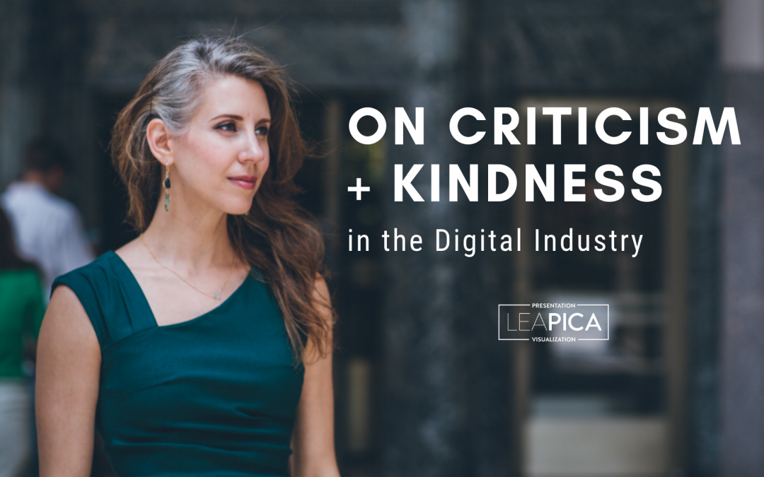 On Criticism and Kindness in the Digital Analytics and Marketing Industry