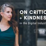 Criticism + Kindness in Digital Industry - Featured