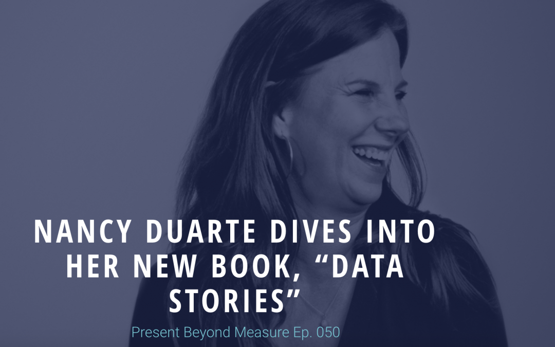 "Nancy Duarte Dives Into Her New Book, ""Data Stories"""