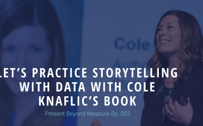 Let's Practice Storytelling with Data with Cole Knaflic's Book