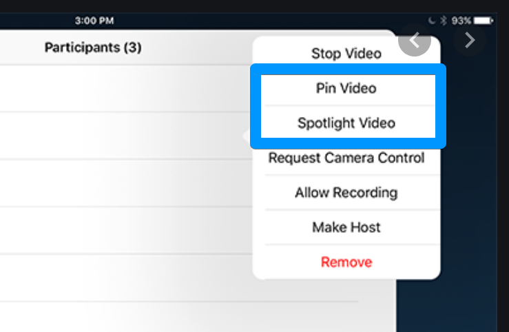 Zoom Tips for Online Presenting - Spotlight video